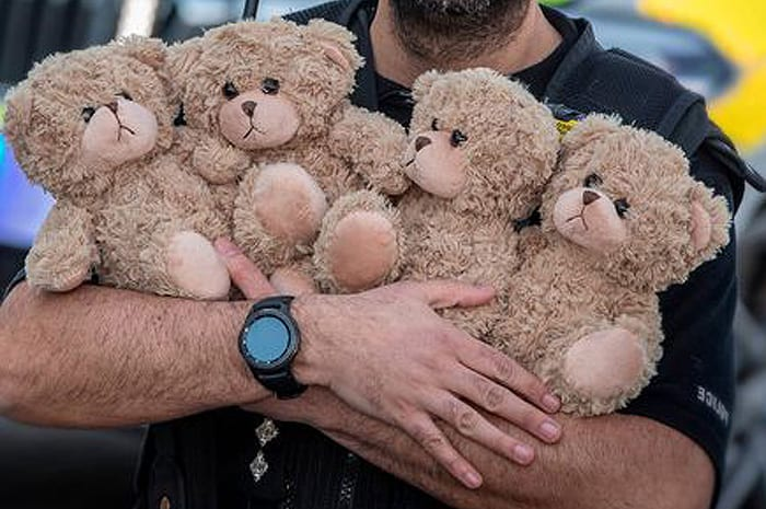 The week in good news: police teddies, sausage dogs and charity legacy I Love Manchester