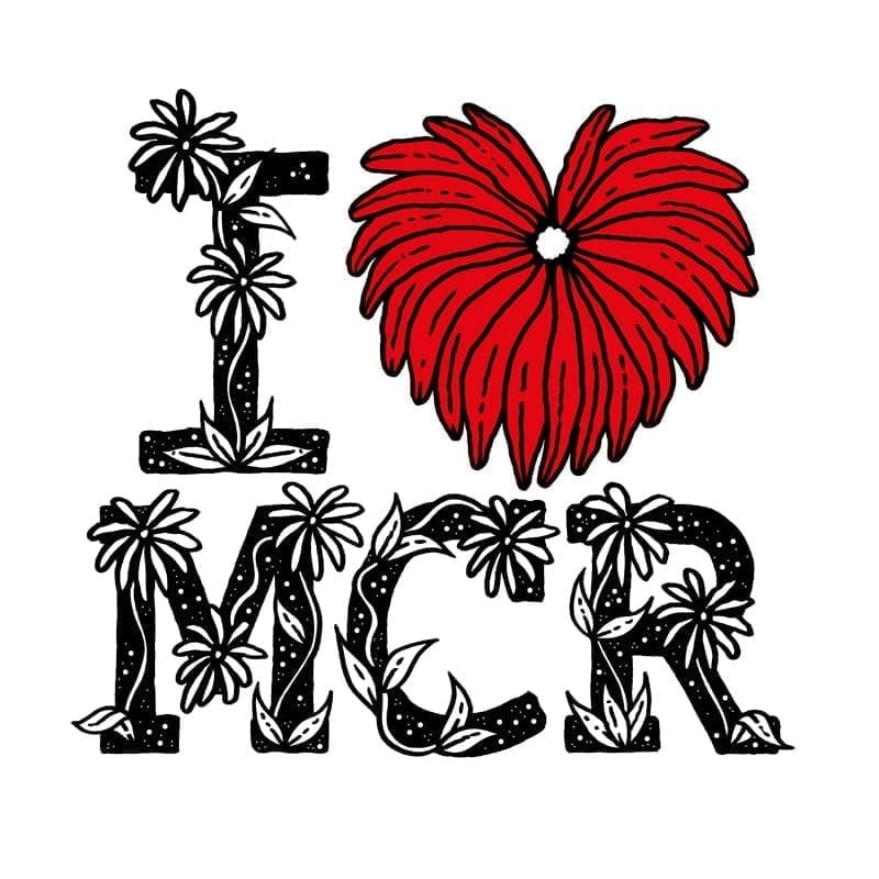 Calling all Manchester artists: could your I Love MCR® logo design be on our next t-shirt? I Love Manchester