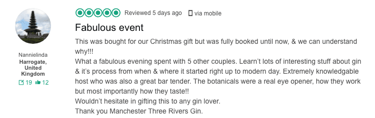 EXCLUSIVE: Manchester Three Rivers award-winning Gin Experience tour is getting bigger: book in now I Love Manchester
