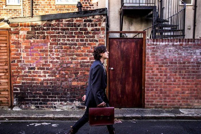 Meet the door-to-door poet collecting stories of the Bridgewater Canal I Love Manchester