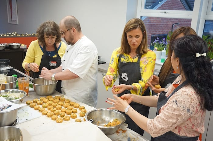 Turn your next celebratory dinner on its head and do it yourself at this Manchester cookery school I Love Manchester
