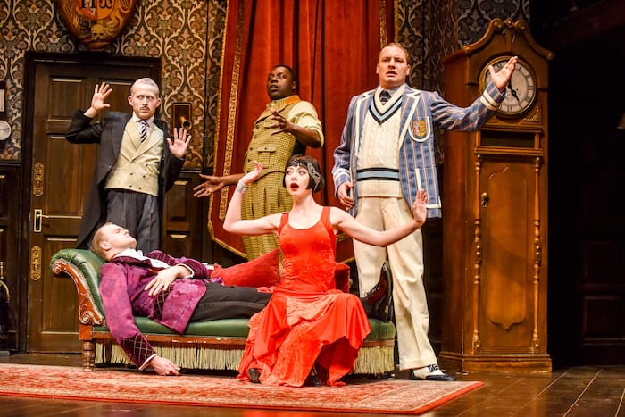 Review:The Play That Goes Wrongat The Opera House I Love Manchester