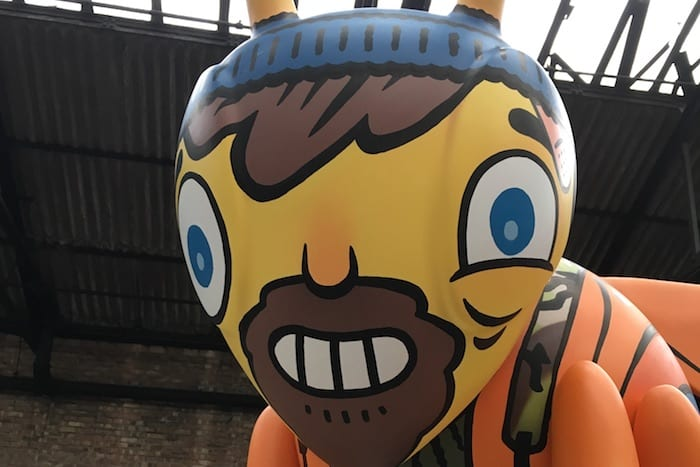 Meet the artists behind Bee in the City: Hammo I Love Manchester