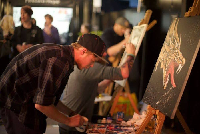 Three to see this weekend: cycle rides, sparkle pride and painting live I Love Manchester