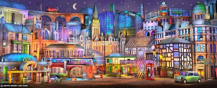 Manchester pictured as you've never seen it before I Love Manchester