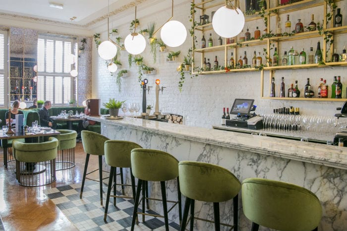 Review: Masons Restaurant Bar is a glamorous space with a warm welcome - and a martini trolley! I Love Manchester