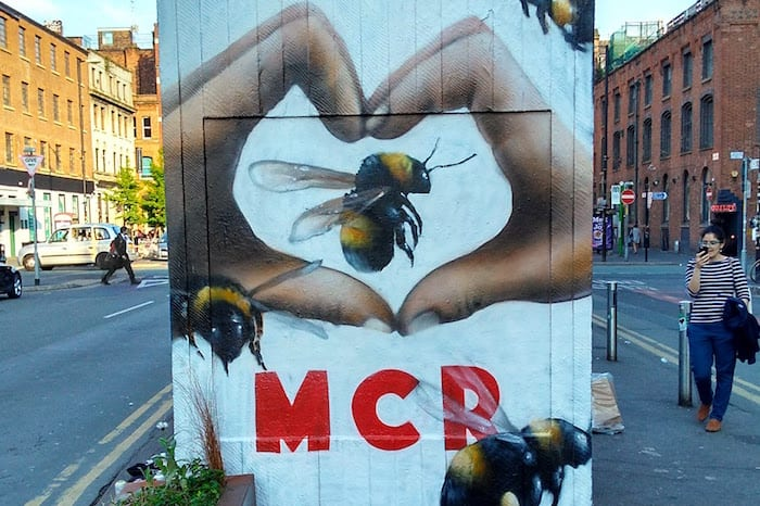 Bee beer now: Joseph Holt launches limited edition Manchester bee glass I Love Manchester