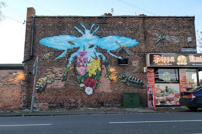 Meet the artists behind Bee in the City: Russell Meehan aka Qubek I Love Manchester