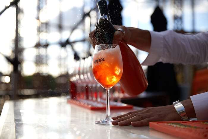 Spritz and giggles: enjoy 2-4-1 Aperol cocktails at this stylish pop-up terrace bar I Love Manchester