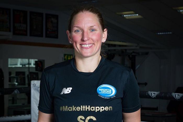 Footballer turned boxer Stacey packs a punch for aspiring sportswomen I Love Manchester