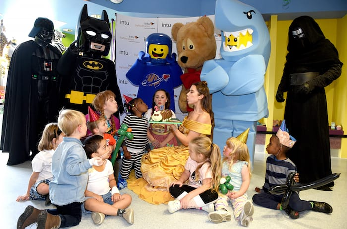 intu Trafford Centre takes 20th birthday party to Royal Manchester Children's Hospital I Love Manchester