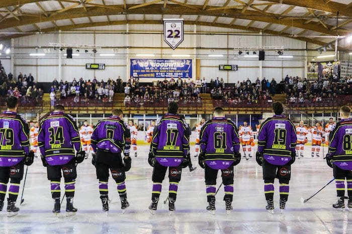 Manchester Storm make the rink pink for breast cancer I Love Manchester