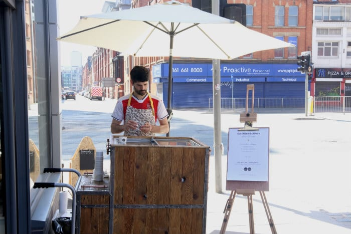 Meet the man who makes the best ice cream in the north from his tiny kitchen in Salford I Love Manchester