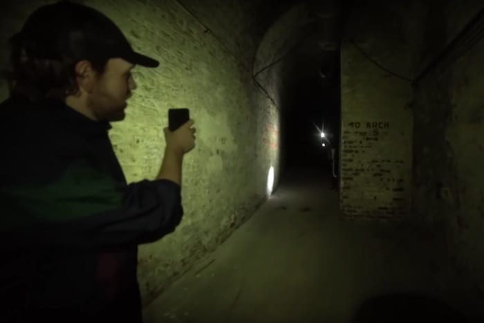 YouTuber finds underground city beneath the streets of Manchester I Love Manchester