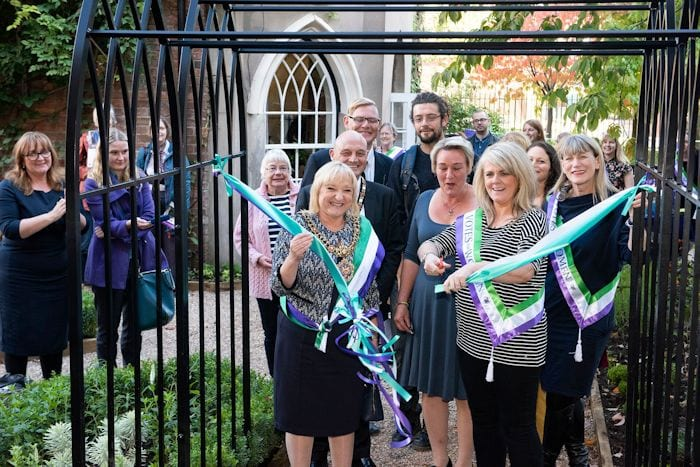 This week's good news: garden celebrating suffragette movement opens thanks to public backing I Love Manchester