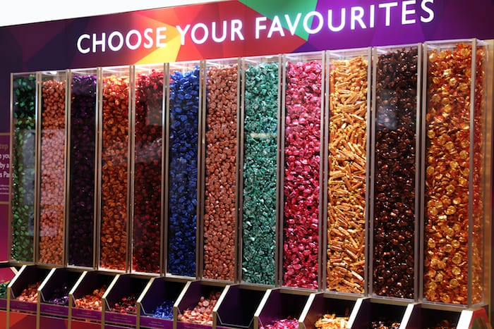 Quality Street pick and mix is back at the Trafford Centre for Christmas - with an exclusive new sweet I Love Manchester