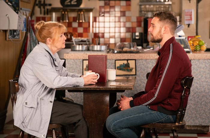 Corrie spoilers: Sinead's secret revealed and a Halloween skeleton in the closet I Love Manchester