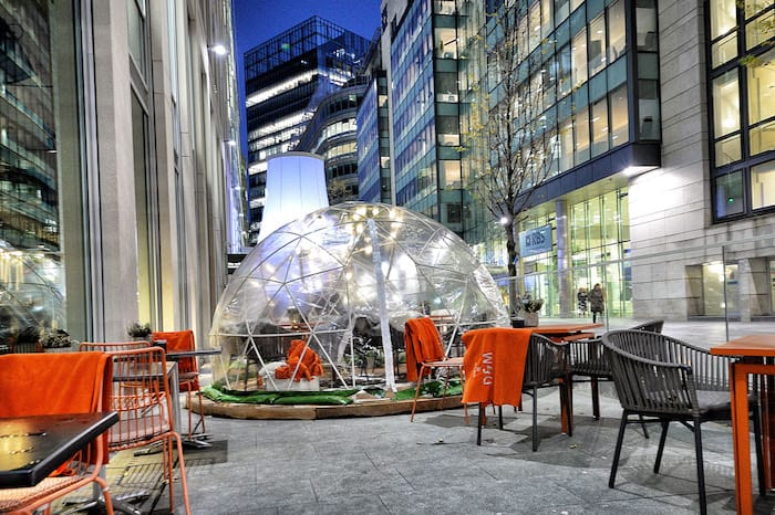 Festive igloos are coming back to Manchester for Christmas - here's what to expect I Love Manchester