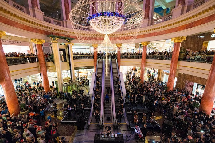 intu Trafford Centre Christmas Lights switch-on event: acts and ...