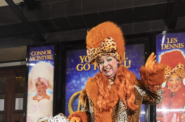 Corrie's Les Dennis and Connor McIntyre on being Manchester panto's ugly sisters I Love Manchester