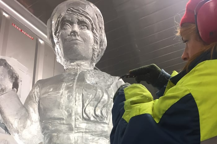 A sneak peek at the sculptures coming to Manchester's Ice Village this Christmas I Love Manchester