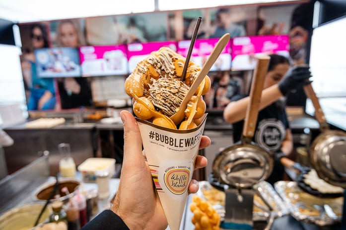 Hot cookie dough, Tango Ice Blast and bubble waffles: Manchester Arndale's quirky pop-ups tried and tested I Love Manchester