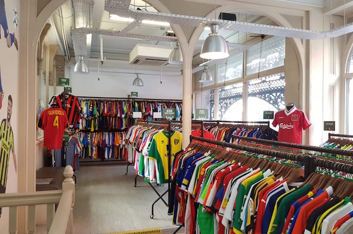 Every football fan's dream shop opens in Manchester just in time for Christmas I Love Manchester