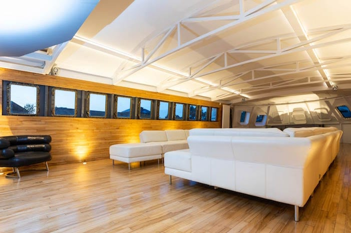 There's a luxury yacht moored in Salford that you can hire for your own private event I Love Manchester