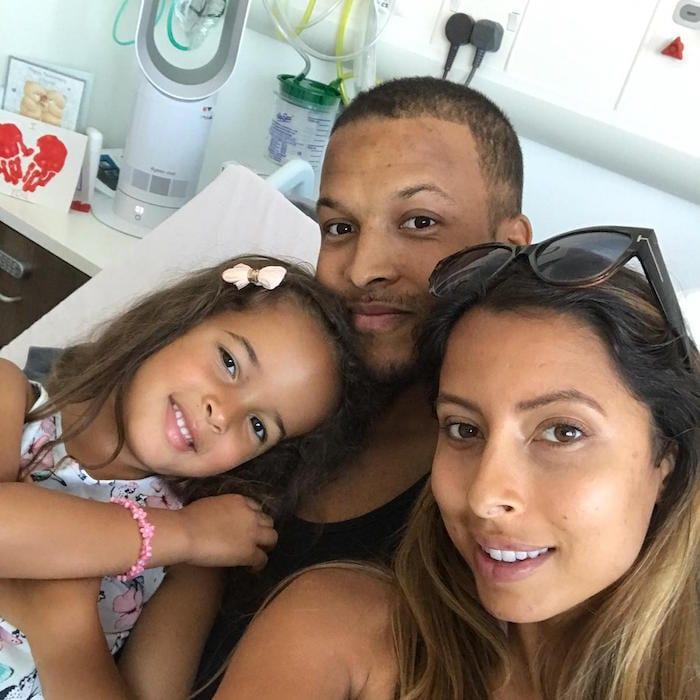 Joe Thompson and family