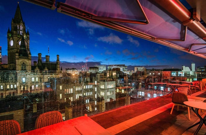 Escape the crowds and watch the fireworks from this Manchester rooftop - mulled wine in hand I Love Manchester