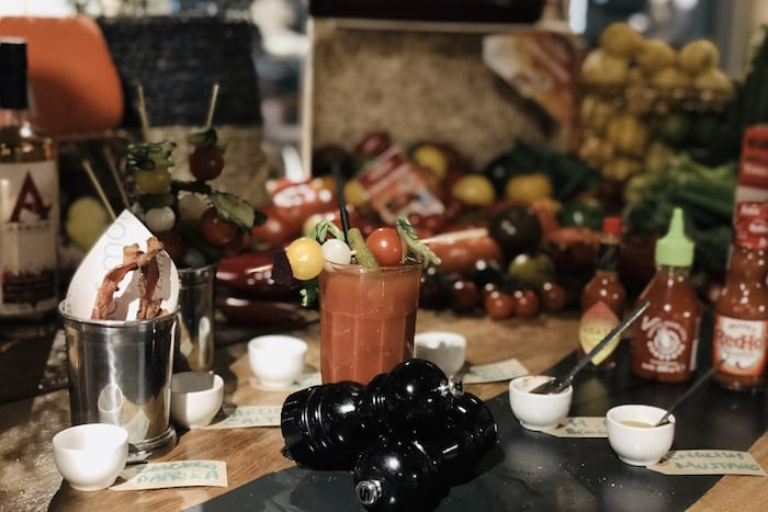 Sunday roast platter and interactive Bloody Mary bar launches at The Refinery in Spinningfields I Love Manchester
