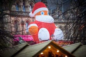 Christmas Markets zippy Santa