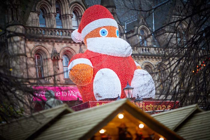 Christmas Markets zippy Santa