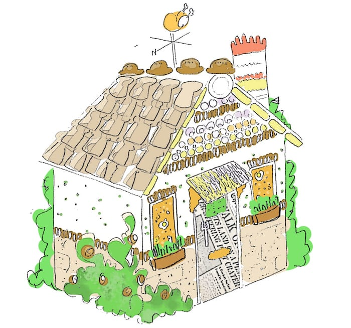 An edible house is coming to MediaCityUK and you can dine there - on the house I Love Manchester