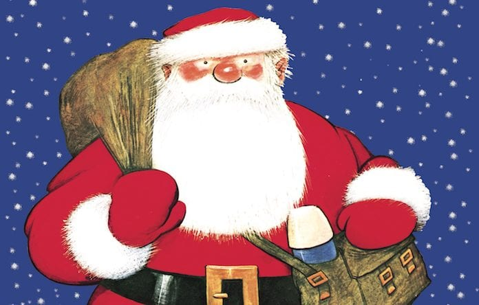 Raymond Briggs' Father Christmas comes to Waterside - with special pyjama party evening shows I Love Manchester