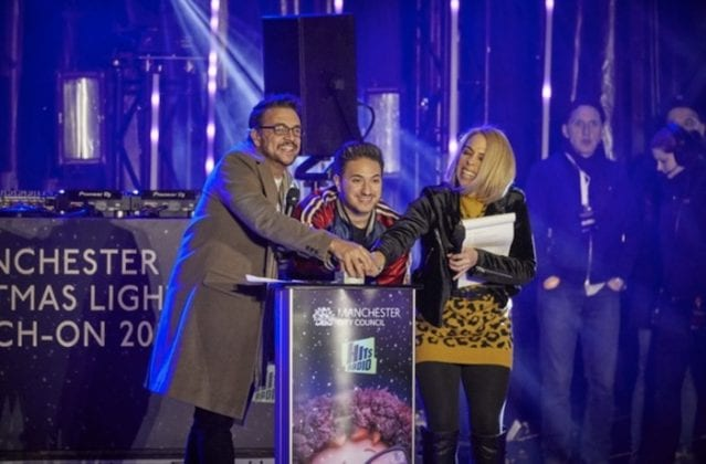 Christmas Lights Switch-on kicks off Manchester's festive season in style I Love Manchester
