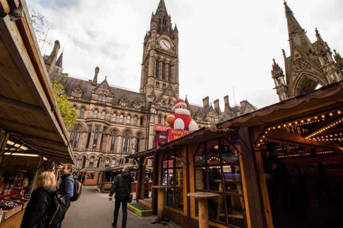 Manchester's Christmas Markets boost the local economy: bringing over 9 million visitors to the city each year