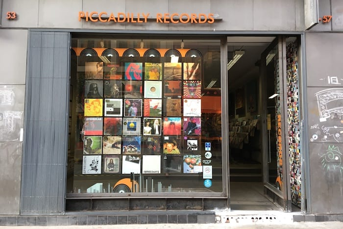 DISCO D from Piccadilly Records
