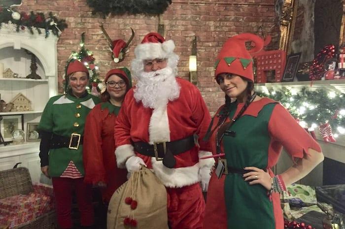 Santa at Kendals