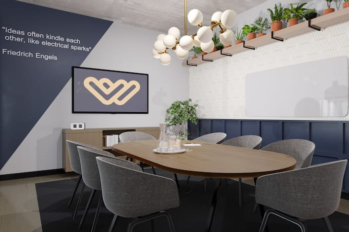 A new co-working space has opened in Manchester - and it offers perks from massage to pizza I Love Manchester