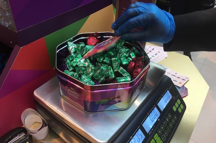 Quality Street pick and mix has landed in Manchester - we headed out to try it I Love Manchester