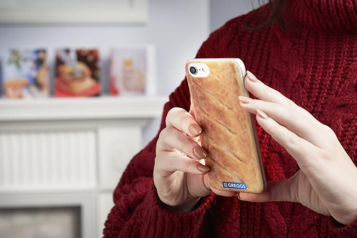 Greggs is launching a Christmas gift range in Manchester - and they'll wrap it in Festive Bake paper I Love Manchester