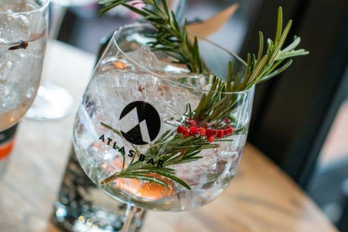 Atlas Bar Gin and tonic