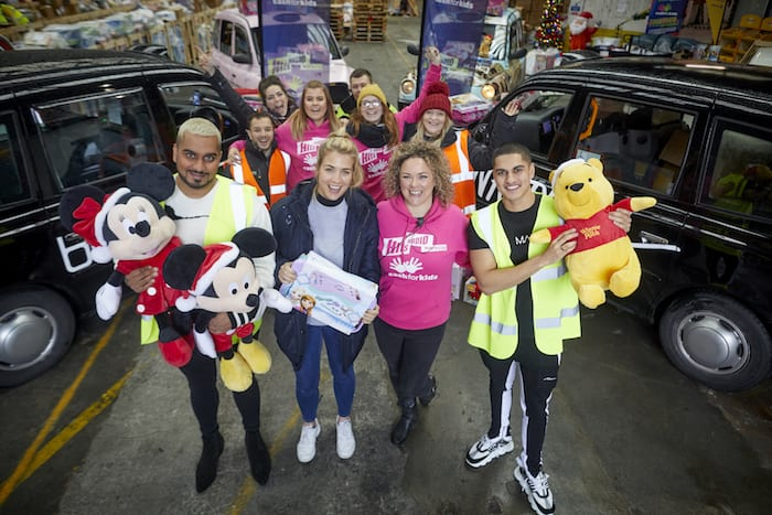 Boohoo founders Umar and Samir Kamani donate £500,000 of toys to local charity I Love Manchester