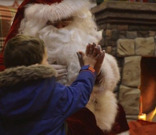 Manchester Arndale Santa
