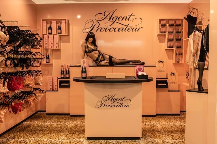 Agent Provocateur launches store exclusively in Kendals - just in time for  Valentine s Day  769ec2cbf