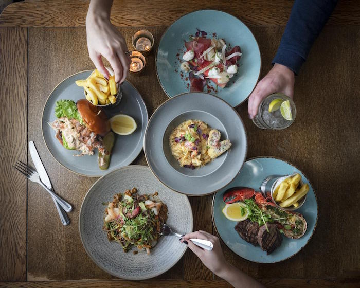Surf and turf with bubbles for under £20 at The Anthologist this January I Love Manchester