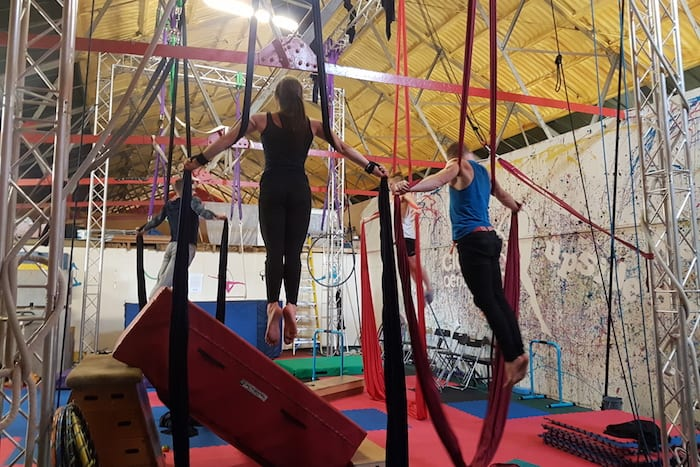 Fun ways to get fit in Manchester from circus skills and playground games to an inflatable agility course I Love Manchester