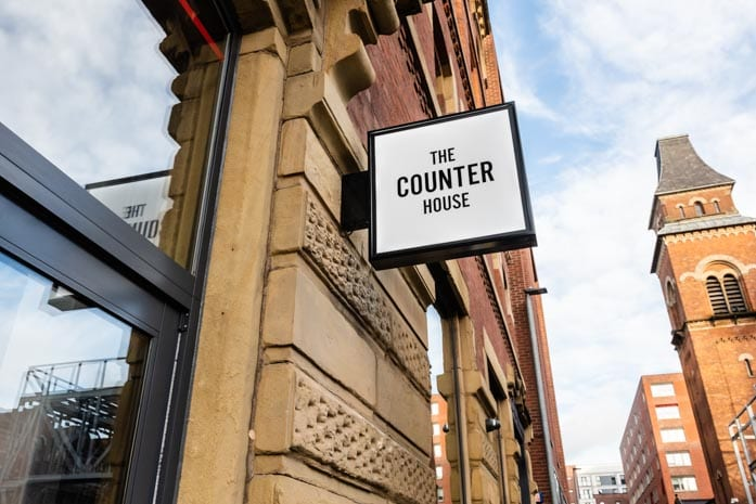Inside new Ancoats restaurant The Counter House - with all-day health and comfort food menus I Love Manchester