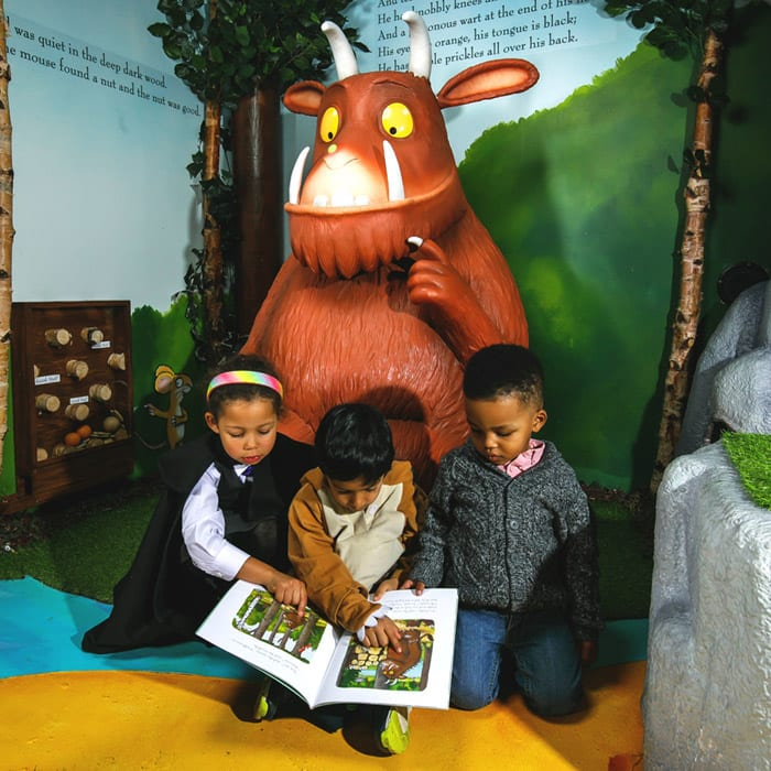The Gruffalo, Zog and Room on the Broom exhibition is now in Manchester - and kids are going to love it I Love Manchester